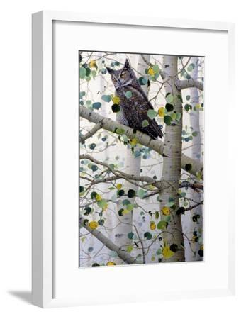 Misty Aspen-Jeff Tift-Framed Giclee Print