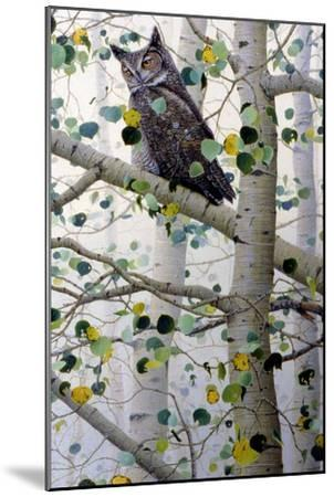 Misty Aspen-Jeff Tift-Mounted Giclee Print