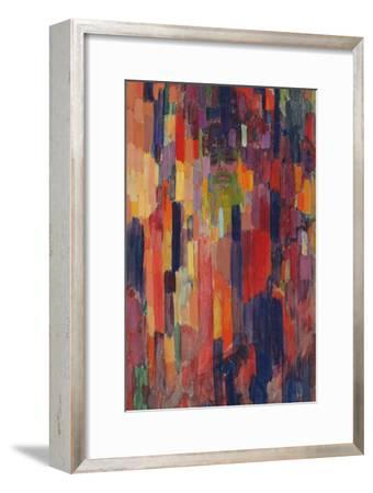 Mme Kupka among Verticals-Frantisek Kupka-Framed Giclee Print