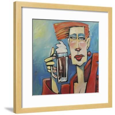 Mocha Doubleshot-Tim Nyberg-Framed Premium Giclee Print