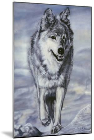 Lord of the Winterland-Jenny Newland-Mounted Giclee Print