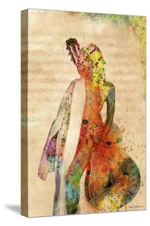 Music-Mark Ashkenazi-Stretched Canvas Print