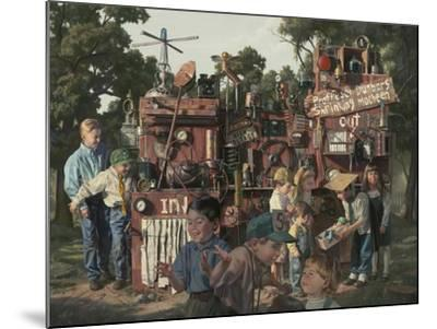 Incredible Shrinking Machine-Bob Byerley-Mounted Giclee Print