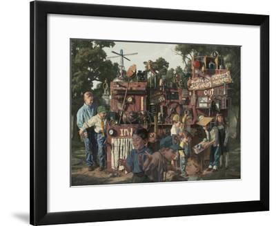Incredible Shrinking Machine-Bob Byerley-Framed Giclee Print