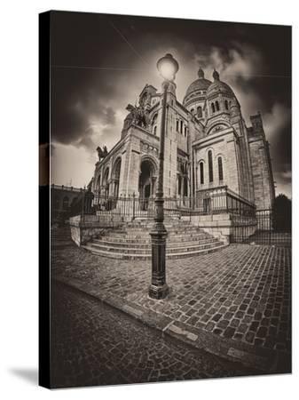 Montemartre-Sebastien Lory-Stretched Canvas Print