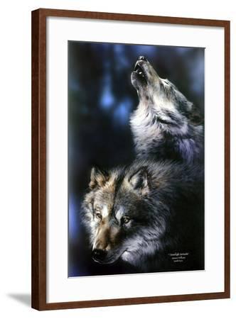 Moonlight Serenade-Spencer Williams-Framed Giclee Print