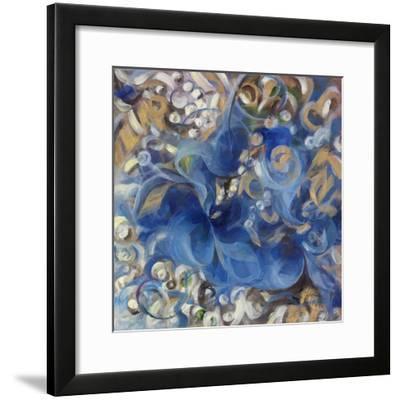 Iris Swirl-li bo-Framed Giclee Print