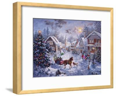 Merry Christmas-Nicky Boehme-Framed Giclee Print