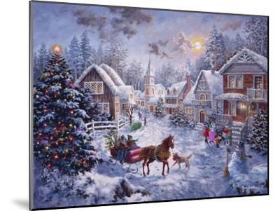 Merry Christmas-Nicky Boehme-Mounted Giclee Print