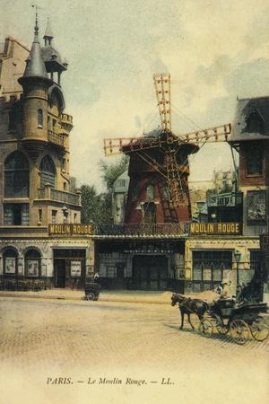 Moulin Rouge--Framed Giclee Print