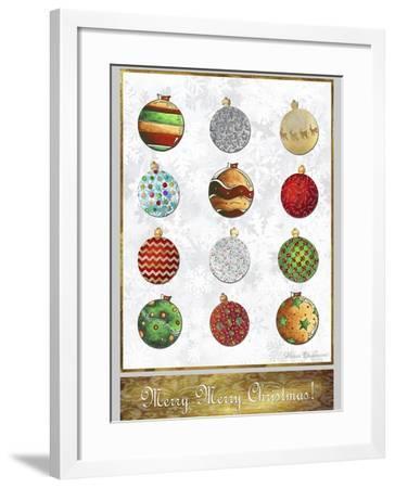 Merry Merry Christmas 2-Megan Aroon Duncanson-Framed Giclee Print