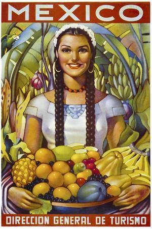 Mexico--Framed Premium Giclee Print