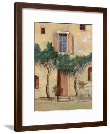 Mezza Bicicletta Sul Muro-Guido Borelli-Framed Giclee Print