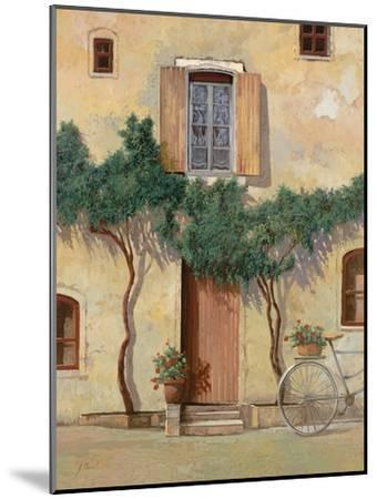 Mezza Bicicletta Sul Muro-Guido Borelli-Mounted Giclee Print
