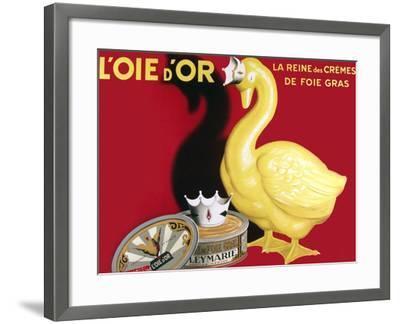 Loie D or La Reine Des Cremes--Framed Giclee Print