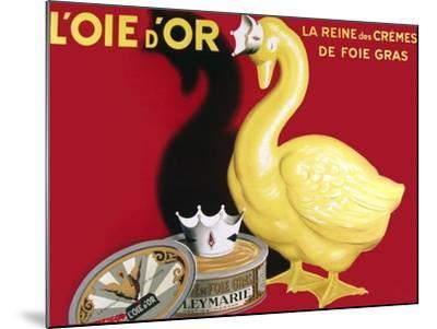 Loie D or La Reine Des Cremes--Mounted Giclee Print