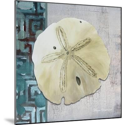 Sand Dollar 1-Megan Aroon Duncanson-Mounted Giclee Print