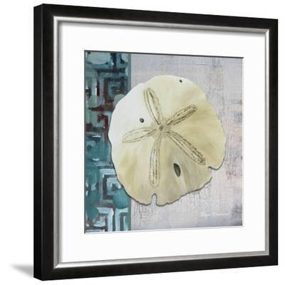 Sand Dollar 1-Megan Aroon Duncanson-Framed Giclee Print