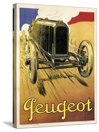 Peugeot Vint Car 1919--Stretched Canvas Print