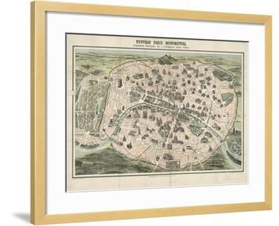 Paris II--Framed Giclee Print