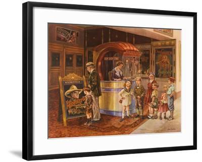 Saturday Matinee-Lee Dubin-Framed Giclee Print