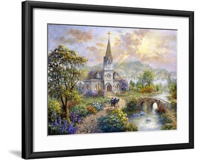 Pray for World Peace-Nicky Boehme-Framed Giclee Print