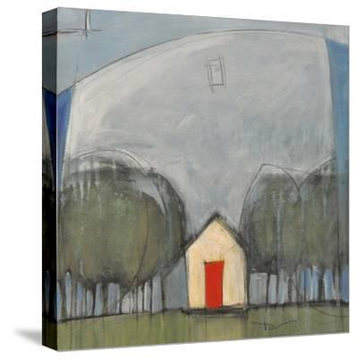 Red Door-Tim Nyberg-Stretched Canvas Print