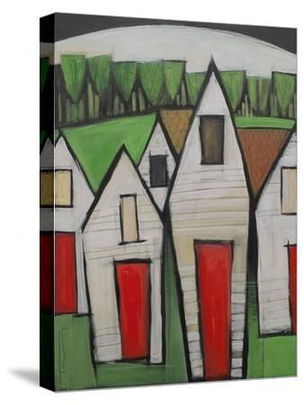 Red Doors-Tim Nyberg-Stretched Canvas Print