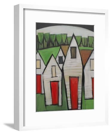 Red Doors-Tim Nyberg-Framed Premium Giclee Print