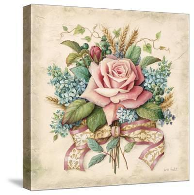 Rose Bouquet-Lisa Audit-Stretched Canvas Print
