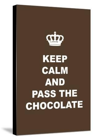 Pass the Chocolate-Tina Lavoie-Stretched Canvas Print