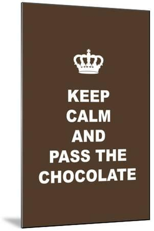 Pass the Chocolate-Tina Lavoie-Mounted Giclee Print