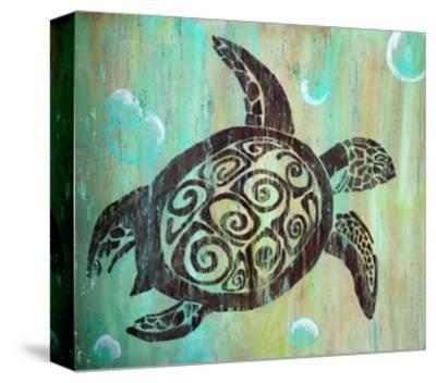 Sea Turtle-Karen Williams-Stretched Canvas Print