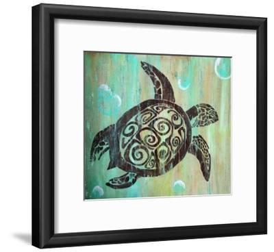 Sea Turtle-Karen Williams-Framed Giclee Print