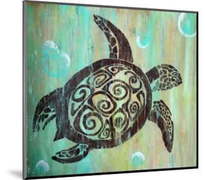 Sea Turtle-Karen Williams-Mounted Giclee Print