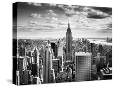 NYC Downtown-Nina Papiorek-Stretched Canvas Print