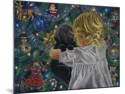 Puppy for Christmas-Tricia Reilly-Matthews-Mounted Giclee Print