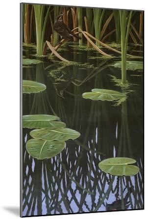Reflections of Courtship-Wilhelm Goebel-Mounted Giclee Print