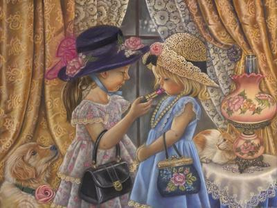 Playing Dress Up-Tricia Reilly-Matthews-Framed Giclee Print