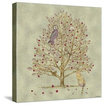 Owl and Pussycat 5-David Sheskin-Stretched Canvas Print