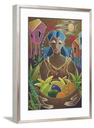 Offerings from Our Land-Oscar Ortiz-Framed Giclee Print