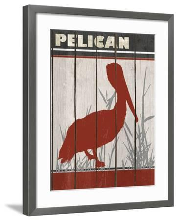 Pelican-Karen Williams-Framed Giclee Print