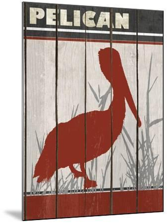 Pelican-Karen Williams-Mounted Giclee Print