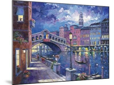 Rialto Bridge-John Zaccheo-Mounted Giclee Print
