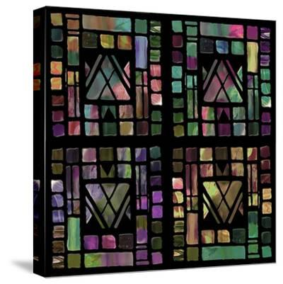 Quilt of Glass-Mindy Sommers-Stretched Canvas Print