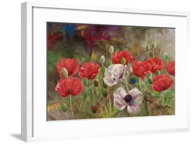 Poppies III-li bo-Framed Giclee Print