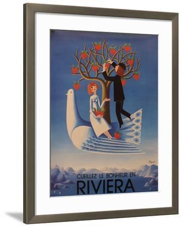 Riviera--Framed Giclee Print