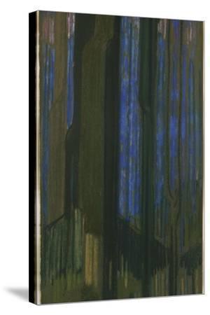 Study in Verticals-Frantisek Kupka-Stretched Canvas Print