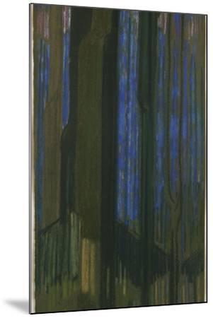 Study in Verticals-Frantisek Kupka-Mounted Giclee Print