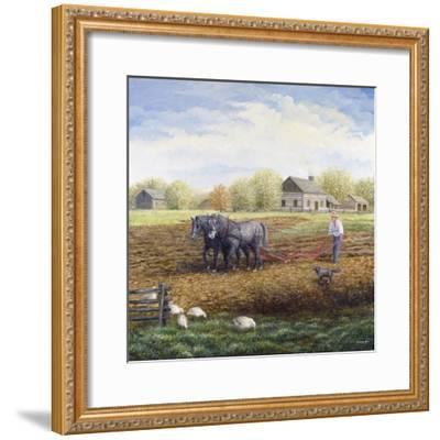 The Land Provides-Kevin Dodds-Framed Giclee Print